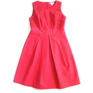 NWOT Liz Claiborne Coral Eyelet Dress